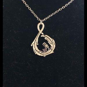 Outlander Scotland Thistle Necklace-20 inch